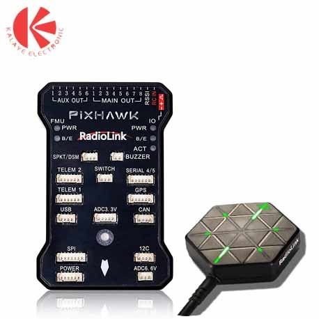 فلایت کنترل PIXHAWK به همراه GPS SE100