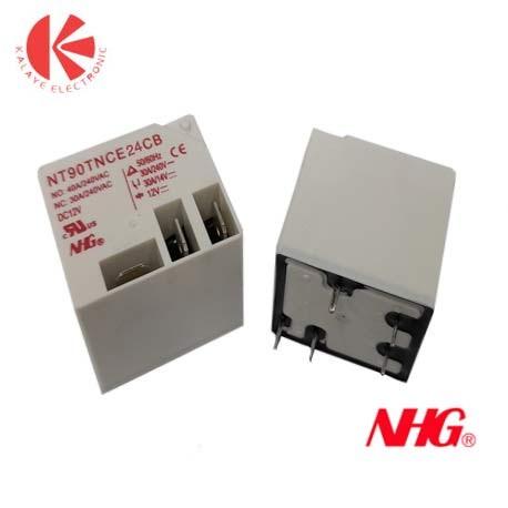 رله NT90T-12V-1C-(30-40)A NHG