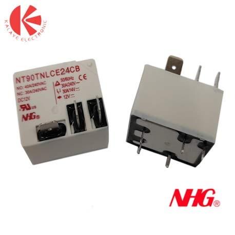 رله شاخکدار 12V-1C-(30-40)A NHG