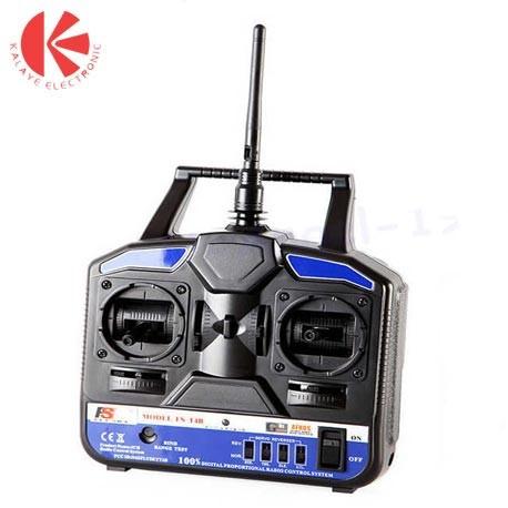 رادیو کنترل 4 کانال FS-T4B