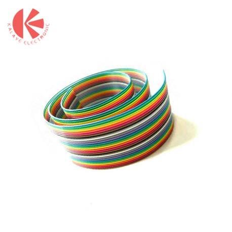 کابل فلت چند رنگ-10 رشته