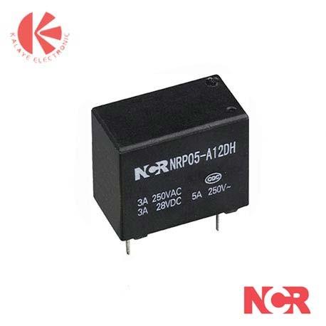 رله کبریتی 12 ولت NCR-NRP05-1B-10A