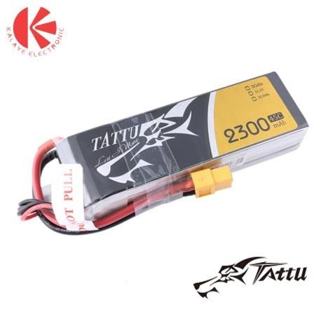 باتری لیتیوم پلیمر Tattu-45C-3S1P-2300mah