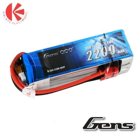 باتری لیتیوم پلیمر Tattu 45C- 3S1P- 11.1 V - 850mah
