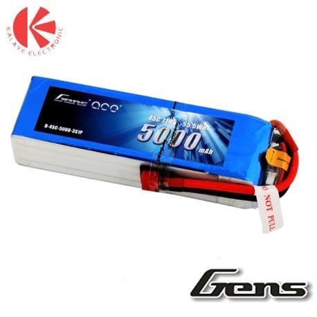 باتری لیتیوم پلیمری Gens ace 45C -3S-2200mah