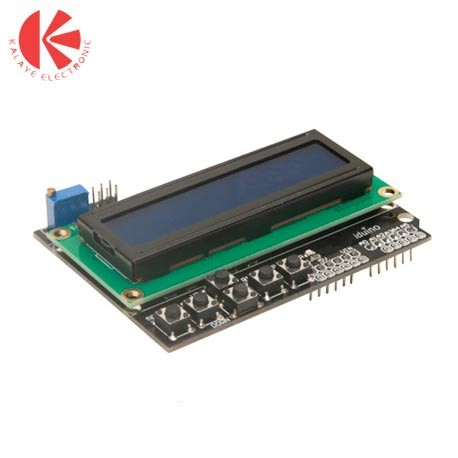 شیلد Arduino Shield 2x16 LCD با کیپد