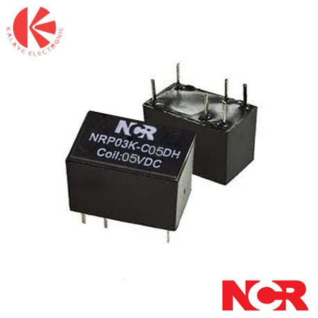 رله مینیاتوریNRP03K   12V-1C-2A