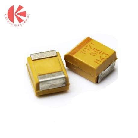 خازن تانتالیوم 100 میکرو فاراد 6.3 ولت SMD