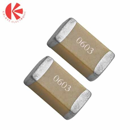 خازن 1 میکرو فاراد 25 ولت SMD 0603