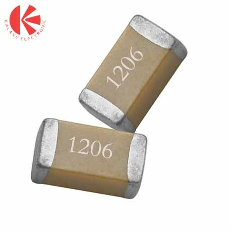 خازن 1 میکرو فاراد 50 ولت SMD 1206