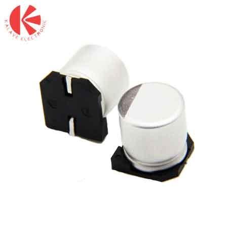 خازن الکترولیتی 25 ولت 10 میکرو فاراد SMD