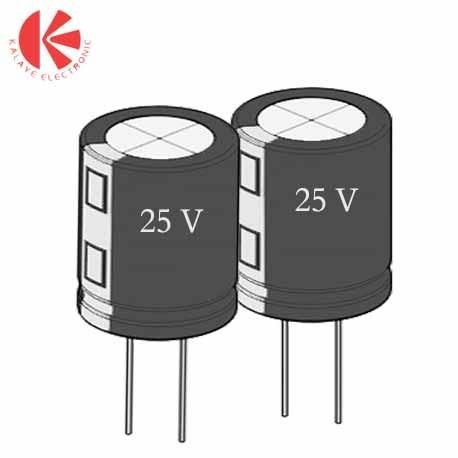 خازن الکترولیت 33 میکرو فاراد 25 ولت